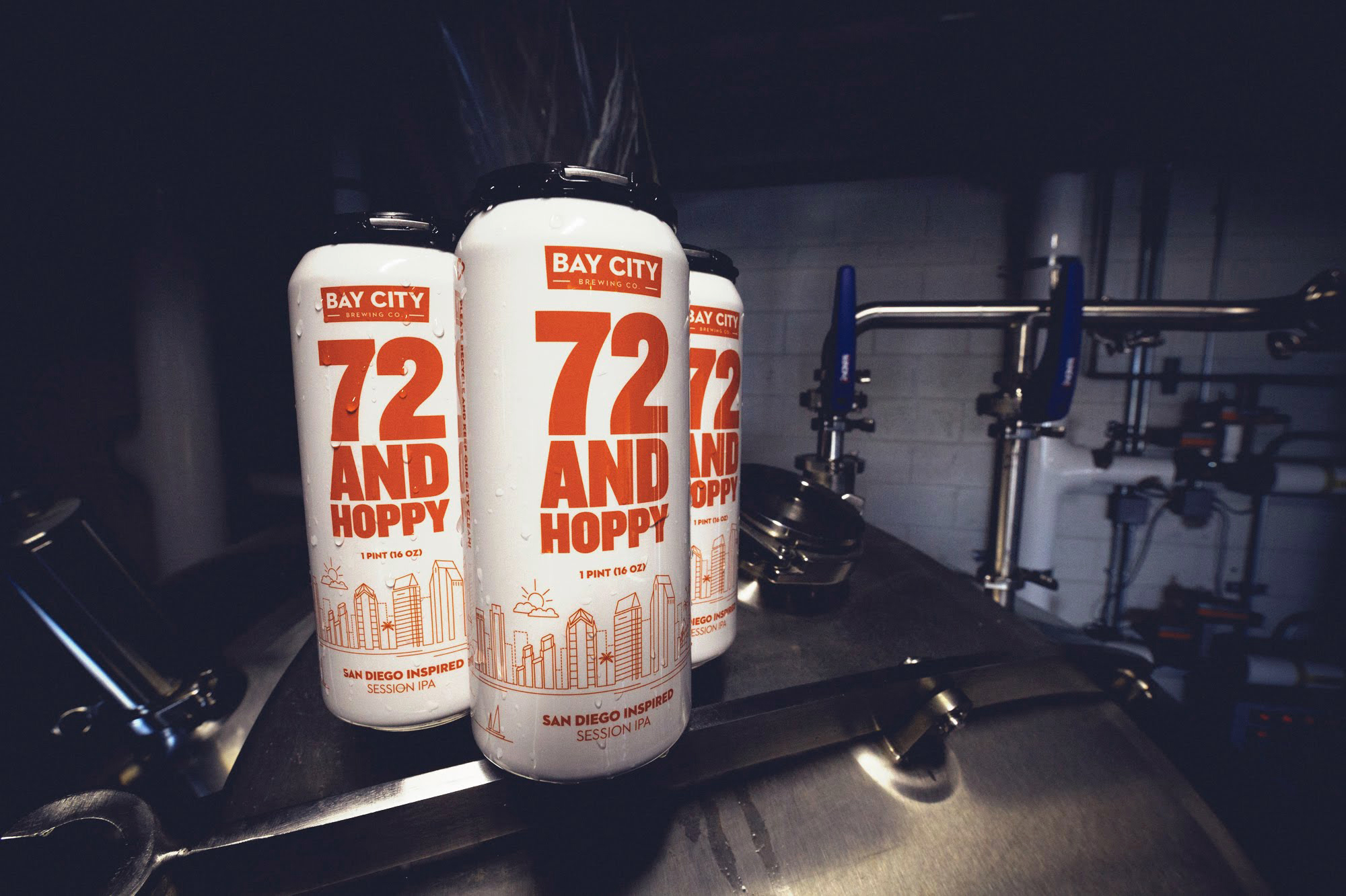 72 and hoppy canning