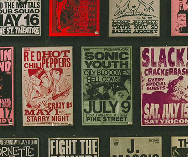 Top 10 Gig Posters